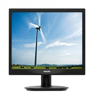 "Philips MT 17"" LED monitor - 17S4LSB/00 - 1280x1024, 5ms, D-Sub, DVI-D, černý"