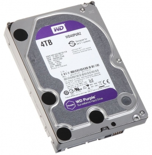 "Western Digital Purple 4TB, 3,5"", 64MB, WD40PURX"