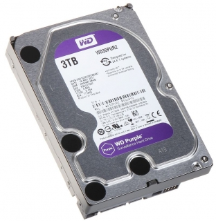 "Western Digital Purple 3TB, 3,5"", 64MB, WD30PURX"
